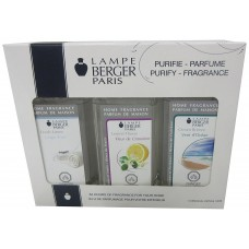 Lampe Berger Fragrance Trio Pack Fresh